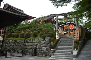 地主神社の写真