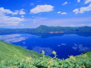 摩周湖の写真