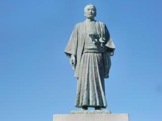 武市半平太像の写真