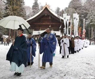 諏訪大社下社秋宮の写真