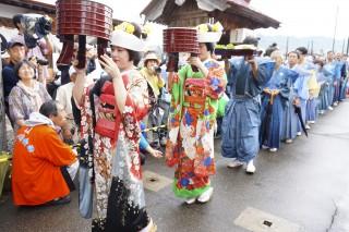 会津田島祇園祭の写真