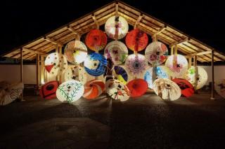 山鹿灯籠祭りの写真