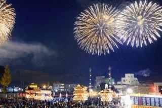 秩父夜祭の写真
