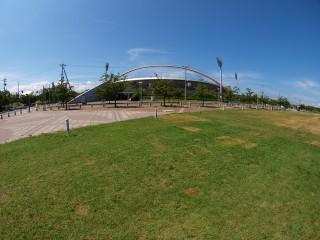 大阪シティ信用金庫スタジアム(舞洲ベースボールスタジアム)の写真
