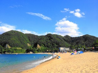 佐津海水浴場の写真