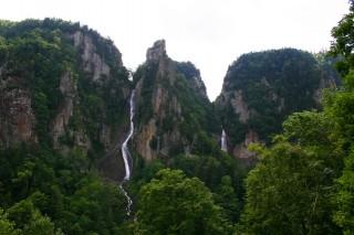 流星の滝の写真
