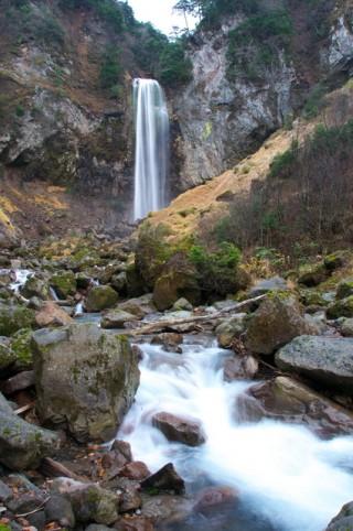 平湯大滝の写真
