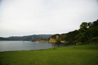 黄金崎海水浴場の写真