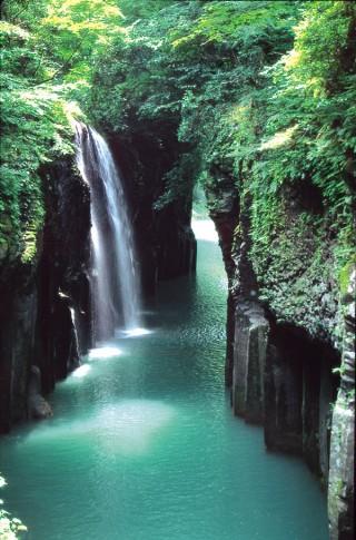 高千穂峡(五ヶ瀬川峡谷)の写真
