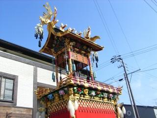 秋の高山祭の写真