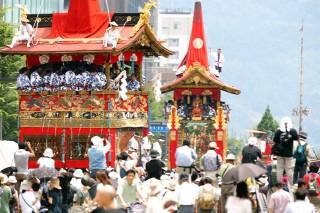 京都祇園祭の写真