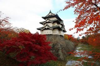 弘前城の写真