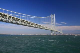 明石海峡大橋の写真