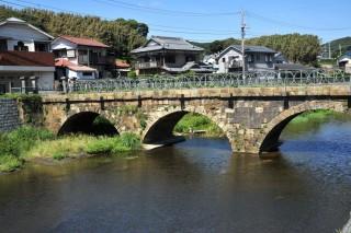 めがね橋の写真