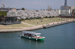 富岩運河環水公園の写真