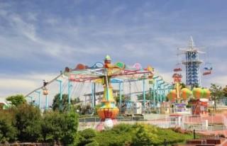 生駒山上遊園地の写真