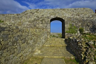 中城城跡の写真