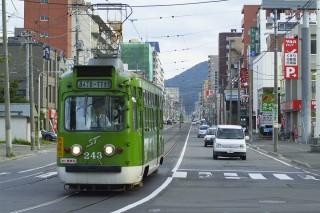 札幌市電(路面電車)の写真