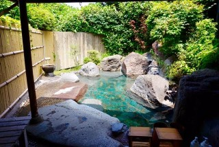 由布院温泉の写真