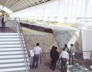 野島断層保存館の写真