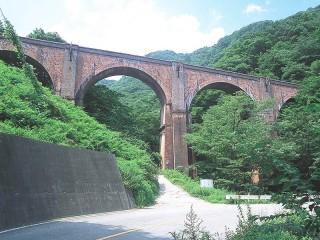 碓氷峠(めがね橋)の写真