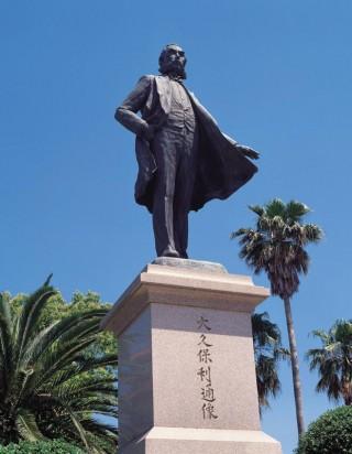 大久保利通銅像の写真