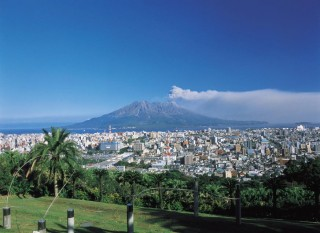 桜島の写真