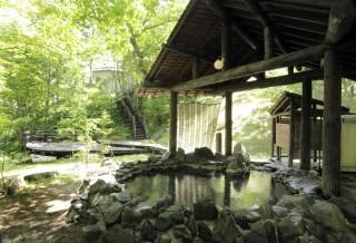 糠平温泉の写真