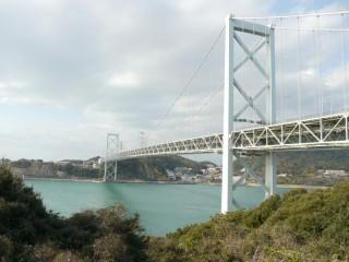 関門橋の写真