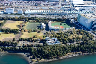 大井ホッケー競技場の写真