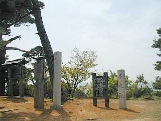 春日山城跡の写真