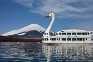 山中湖遊覧船の写真