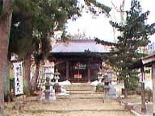 温泉神社と甲子大黒天の写真