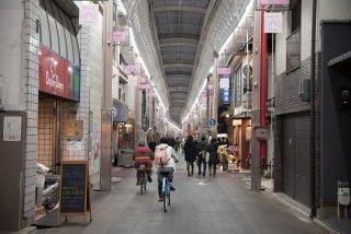 京都 三条会商店街の写真