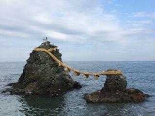 夫婦岩(二見浦)の写真