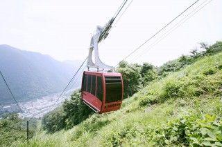 鬼怒川温泉ロープウェイおさるの山の写真