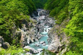 龍王峡の写真