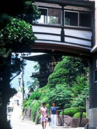 湯村温泉(山梨)の写真