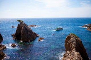 浦富海岸の写真