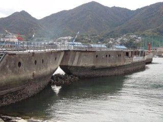 コンクリート船・武智丸の写真