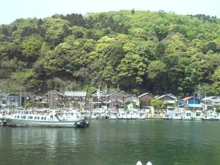 沖島の写真
