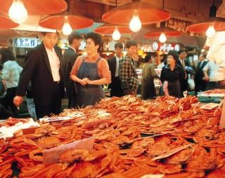 近江町市場の写真