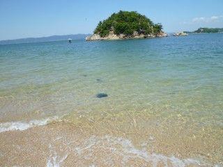 白石島海水浴場の写真