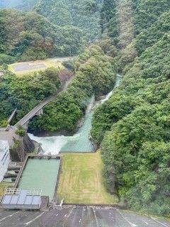 大河内ダムの写真
