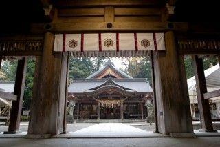 白山比め神社の写真