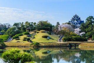 岡山後楽園の写真