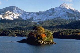 桧原湖の写真