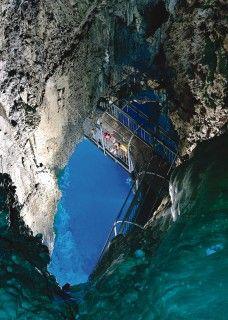龍泉洞の写真