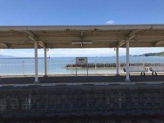 梅津寺駅の写真