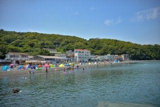 大瀬海水浴場の写真